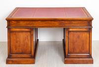 Oak Pedestal Desk c.1930 (8 of 9)