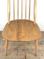 Pair of Ercol Blonde Elm Windsor Chairs (12 of 12)
