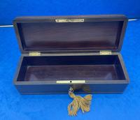 19th Century French Fruitwood Glove Box (8 of 9)
