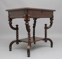 Early 20th Century Metamorphic Oak Desk (3 of 8)