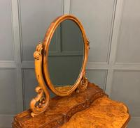 Victorian Period Burr Walnut Duchess Dressing Table (10 of 18)