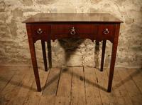19th Century Mahogany Side Table (5 of 5)