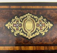 Victorian Burr Cedar Glove Box Cross Banded in Tulipwood (4 of 13)