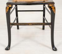 Queen Anne Style Chinoiserie Dressing Table & Chair (3 of 22)
