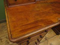 Antique Satin Birch Pedestal Desk by Heal & Sons (14 of 21)