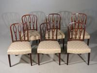Very Good Set of 6 George III Period Hooped Backed Single Chairs (2 of 3)