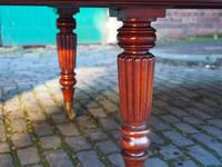 Large George IV Mahogany Dining Table by M. Willson, London (6 of 20)