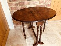 Burr Walnut Sutherland Table