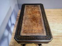 19th Century Art & Crafts Library Table (10 of 12)