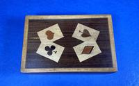 1930s Wooden Inlaid Puzzle Card Box (10 of 11)