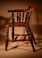 Captains / Smokers Bow-back Armchair (6 of 14)