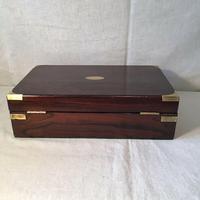 Antique Victorian Campaign Collectors Box (2 of 6)