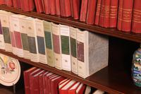 Mahogany Open Bookcase - England c.1900 (6 of 11)