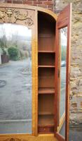 French Art Deco Burr Ash, Marquetry & Gilt Metal Mounted Wardrobe c.1910 (6 of 18)