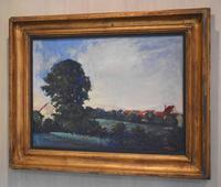 Landscape At Daybreak, Oil Painting by Sylvie Plessy (2 of 6)