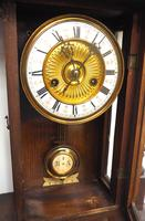 Fantastic Rare Victorian 8-day Wall Clock – Small Antique Striking Vienna Wall Clock (15 of 17)