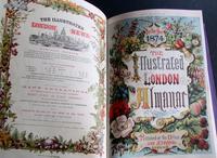 1870-81 Leather Bound Volume of London Illustrated Almanack (3 of 5)