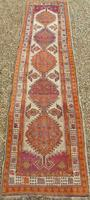 Antique Sarab Carpet Runner Rare Colours