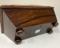 Antique Rosewood Sewing Box c.1830 (2 of 9)