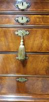 Outstanding Burr Walnut Chest of Drawers on Stand (8 of 14)