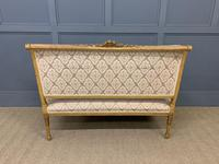 19th Century French Giltwood Settee (14 of 15)