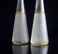 Pair of St Louis Crystal Liqueur Decanters Belle Epoque (3 of 7)