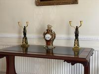 Important Pair of Early Empire French Gilt-Bronze Candelabra Attributed to Claude Galle (8 of 10)