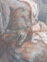 Victorian pastel portrait of grand mam artist Dodd (Free shipping to Mainland England) (8 of 10)