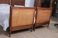 Fabulous Pair of Single Henri II Style Cane & Wood Single Beds (7 of 11)