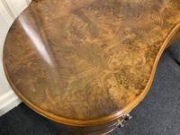 Kidney Shaped Burr Walnut Dressing Table (3 of 10)