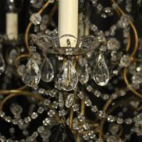 French Pair of Six Light Antique Chandeliers (5 of 10)