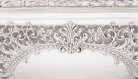 Antique Edwardian Sterling Silver Dressing  Tray  1905 (5 of 9)