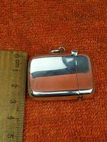 Antique Sterling Silver Hallmarked Vesta Case 1903, Joseph Gloster Ltd (8 of 9)