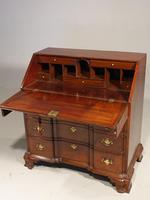 Beautifully made George III Period Mahogany Bureau in the American Taste (2 of 5)
