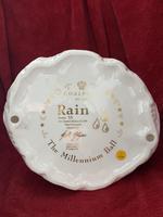 "Rare Coalport Limited Edition Figurine ""Rain"" The Millennium Ball Collection (8 of 9)"