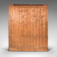 Very Large Antique Haberdashery Cabinet, Oak, Collector, Shop, Rack, Edwardian (6 of 12)