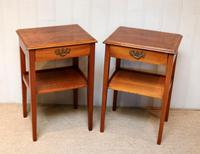 Pair of Yew Tables (2 of 10)
