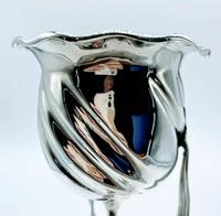 Large John George Smith Art Nouveau Tall Goblet Solid Silver c.1898 (2 of 6)