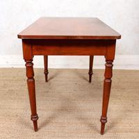 Edwardian Mahogany Writing Desk Table (11 of 12)