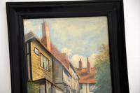 Antique Watercolour Painting of The Mermaid Inn, Rye by Annie L. Lee (3 of 10)