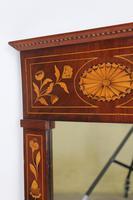 19th Century Dutch Inlaid Mahogany Mirror (9 of 13)