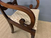 Excellent Pair of Regency Mahogany Scroll Armchairs (16 of 17)