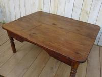 Antique Oak & Pine Coffee Table (7 of 7)
