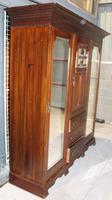 Large Art Nouveaux Mahogany Compactum Wardrobe (3 of 6)