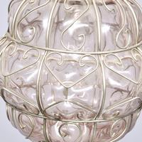 Set of 4 Murano-type Basket Light Fittings (7 of 10)