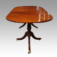 Georgian style mahogany dining table (8 of 8)