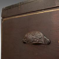 Antique Merchant's Tool Chest, English, Pine, Craftsman's Trunk, Victorian c.1900 (11 of 12)
