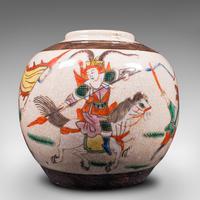 Small Antique Flower Vase, Japanese, Ceramic, Posy Urn, Edo Period c.1850 (10 of 12)