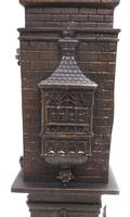 Antique French Tower Model 8-day Gothic Tower Mantle Clock (9 of 13)