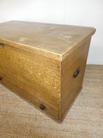 19th Century Scumbled Blanket Box (3 of 12)
